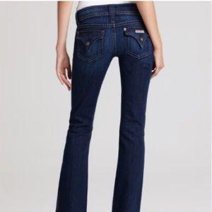 Hudson Signature Bootcut Jeans, sz 24